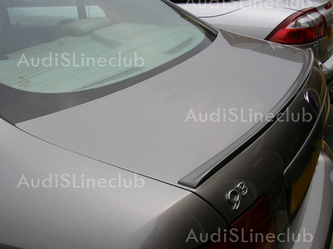 painted trunk lip spoiler for acura tl type s sedan 2002. Black Bedroom Furniture Sets. Home Design Ideas